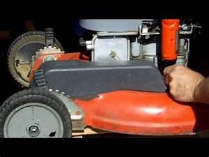 Lawn Mower Repair Scotts Briggs And Stratton 6 0 Self