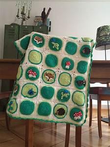 Granny Square Decke : waldtier granny square decke crochet chrochet and handmade baby ~ Buech-reservation.com Haus und Dekorationen