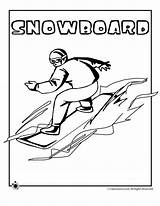 Coloring Snowboarding Pages Winter Olympic Olympics Sports Colouring Games Activities Snowboard Sheets Print Curling Jr Special Skiing Classroom Spanish Freestyle sketch template