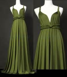 jersey bridesmaid dresses bridesmaid dress olive green infinity dress wrap convertible dress jersey formal dress gown