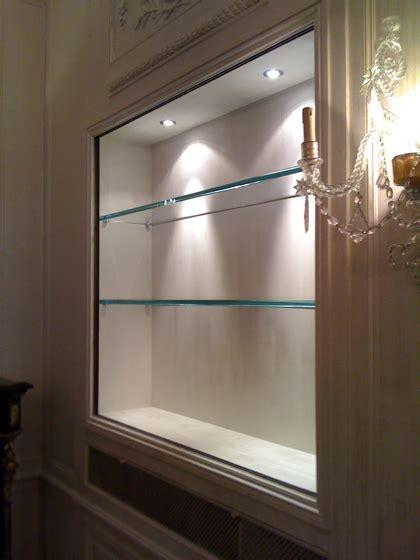 etagere en verre sur mesure castorama maison design bahbe