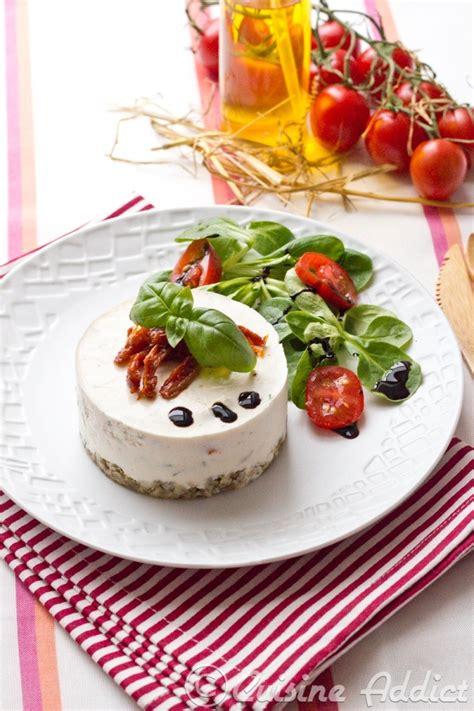 livre de cuisine facile pour tous les jours cheesecake salé quot comme en toscane quot ricotta basilic et tomates séchées cuisine addict