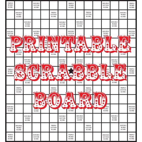 quirky artist loft diy printable scrabble board