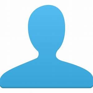 User blue Icon | Flatastic 4 Iconset | Custom Icon Design