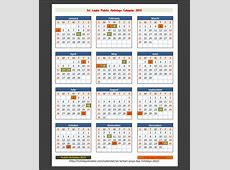 Download sri lanka calendar printable with public holidays