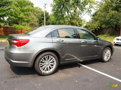 2012 Chrysler 200 Limited by Tungsten Metallic 2012 Chrysler 200 Limited Sedan Exterior