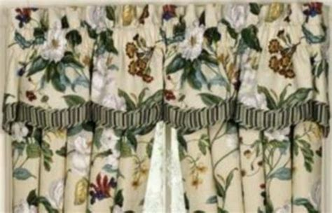 69 waverly garden images parchment fairfield valance ebay