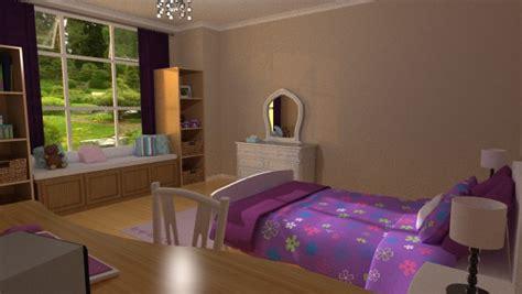 girls bedroom  daz studio  poser inlite studio