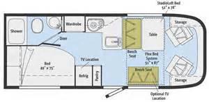 gmc motorhome floor plans motorhome floor plans class a