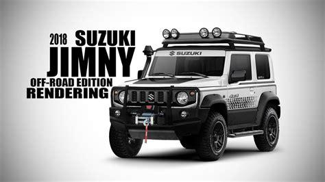 suzuki jimny 2018 tuning 2018 suzuki jimny road edition rendering srk designs