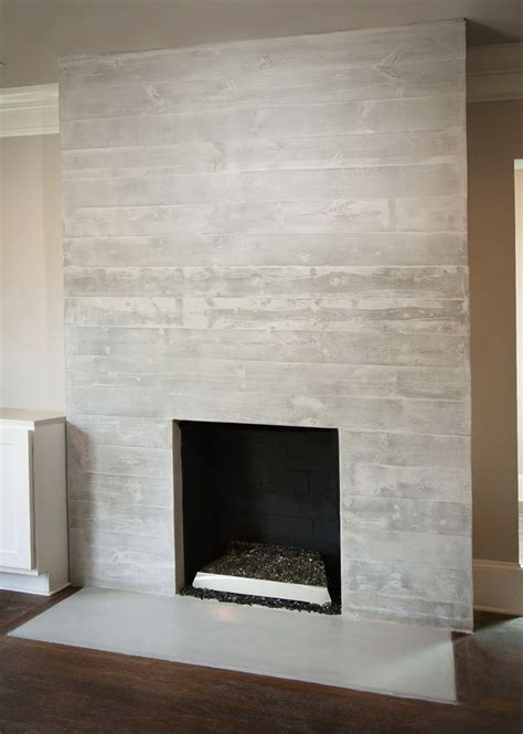 Concrete Fireplace Surround Diy | Wood fireplace surrounds