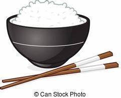 Rice bowl Vector Clipart Royalty Free. 1,233 Rice bowl ...