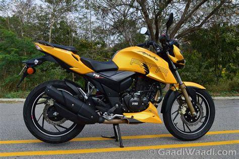 Review Tvs Apache Rtr 200 4v by Tvs Apache Rtr 200 4v Review Ride Gaadiwaadi