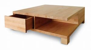 Table Bois Massif Design : table basse bois massif designs accueil design et mobilier ~ Teatrodelosmanantiales.com Idées de Décoration