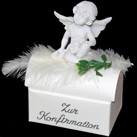 geschenk zur konfirmation geschenkbox mit schutzengel