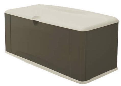 rubbermaid patio storage containers new 121 gallon xl deck storage box rubbermaid outdoor
