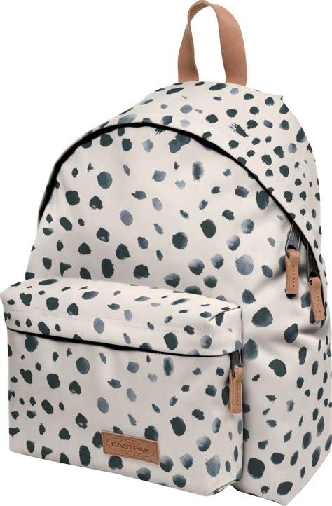 eastpak padded pak  backpack white grey