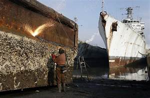 Cleaning Up Shipbreaking