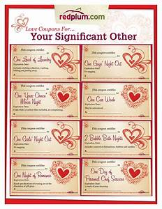 romantic love coupon template printable love coupons for With love coupon templates printable free