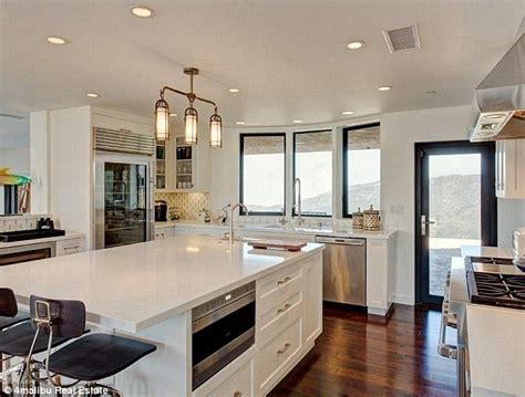 how are kitchen islands bruce jenner s secluded 3 5m malibu home inside white 7193