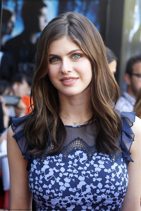 Alexandra Daddario At The Percy Jackson Premiere Sports