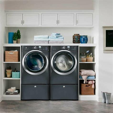 machine a laver avec seche linge meuble machine 224 laver pour un coin buanderie pratique