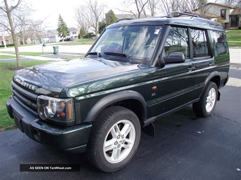 2003 Land Rover Discovery Se, Runs Well