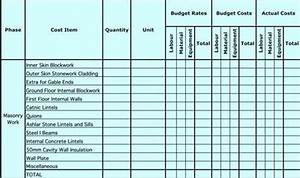 Project Planning Gantt Chart Excel Download Free Masonry Estimating Sheet To Estimate Your