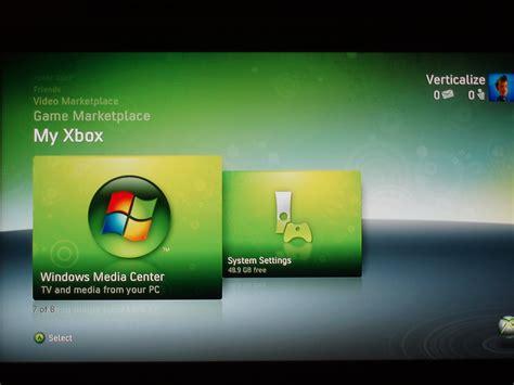 My Xbox Windows Media Center Picture Image Photo