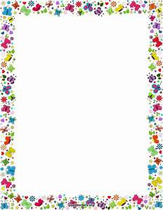 Free Spring Borders: Clip Art, Page Borders, And Vector
