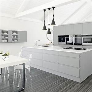 Best 20 white grey kitchens ideas on pinterest white for Kitchen colors with white cabinets with climbing man wall art uk