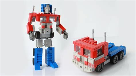 my lego optimus prime g1 from transformers with