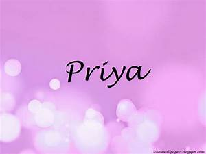 Download Priya Name Wallpaper Gallery