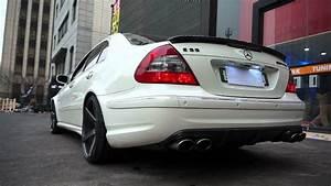 E55 Amg W211 : supersprint exhaust e55 amg www i carshop com youtube ~ Medecine-chirurgie-esthetiques.com Avis de Voitures