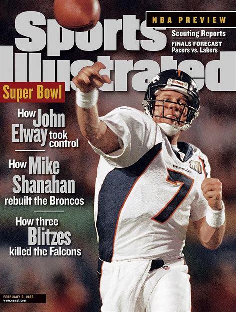 Denver Broncos Qb John Elway Super Bowl Xxxiii Sports