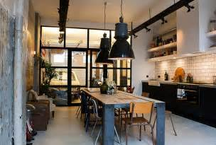 industrial interiors home decor 100 awesome industrial kitchen ideas