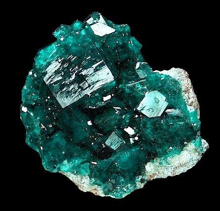 Mineralia  Dioptase From Namibia