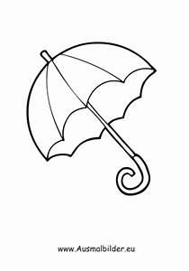 Ausmalbilder Regenschirm Kleidung Malvorlagen