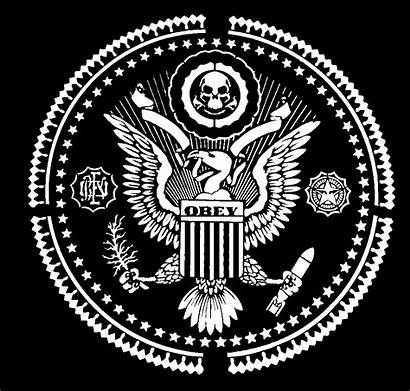 Seal Presidential Obey Vector Giant Stencil Reverse