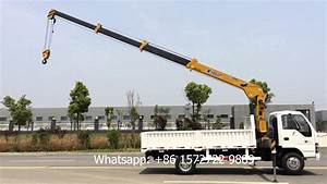4 Ton Isuzu Hydraulic Telescopic Boom Truck Mounted Crane