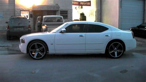 dubsandtirescom   iroc black wheels  dodge charger review rims miami youtube