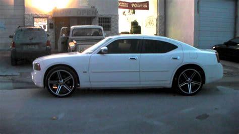 dubsandtirescom   iroc black wheels  dodge charger review rims miami youtube