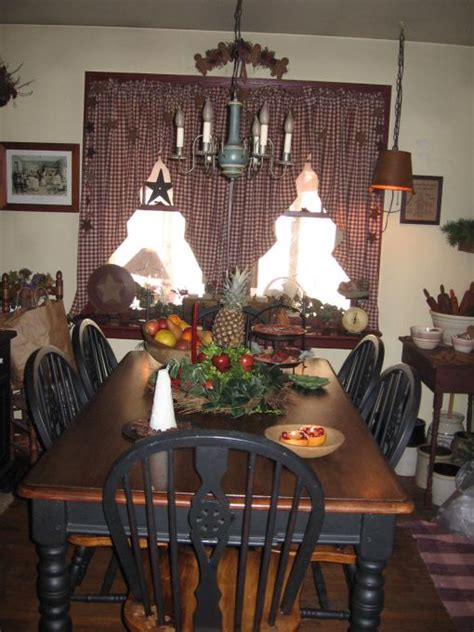 Primitive Decorating Ideas For Living Room by Primitive Decorating Ideas More Primitive Dining Room