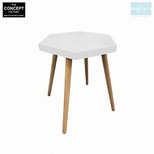 Table D Appoint Miroir : table d 39 appoint hexagonale en mdf ~ Teatrodelosmanantiales.com Idées de Décoration