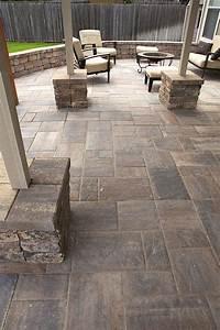 excellent patio tile design ideas Tremron bluestone paver patio - Hupehome