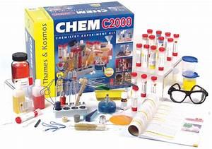 Chemistry Sets Kits For Kids  Chem C2000 Intermediate