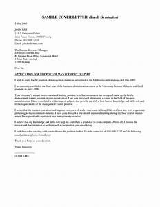cover letter examples fresh graduate cover letter With how to write a cover letter for phd position