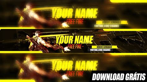Find & download free graphic resources for youtube banner. Banner Free Fire para Youtube - Speed Art + Download ...