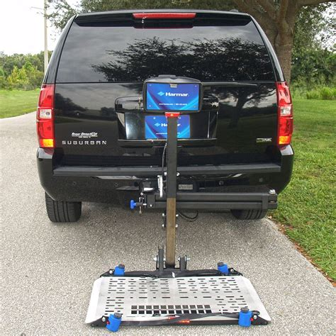 harmar outside vehicle scooter lifts and wheelchair lifts