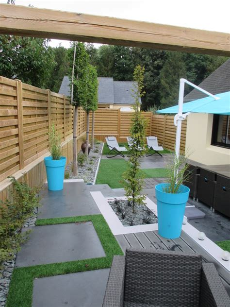 deco cuisine recup aménagement jardin moderne contemporain jardin